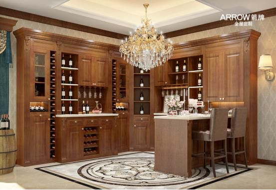 箭牌整体厨房|全屋定制:原木古典,打造属于你的实木